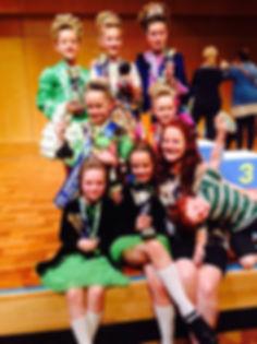 Victorian Irish Dance Academy Competitions