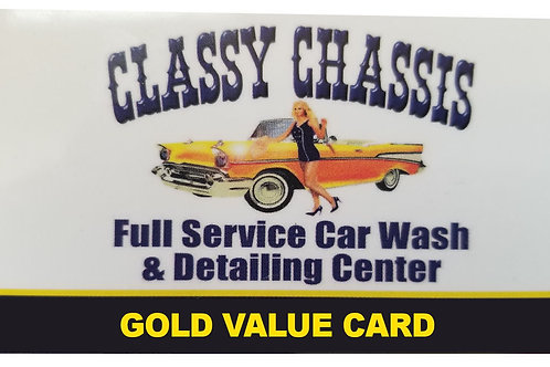 Gold Card $100 card for $65