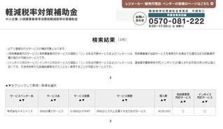HACHIXは日本軽減税率対策補助金の認定ベンダーになりました!