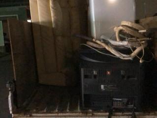 名古屋市中区にて引越し後の不用品撤去