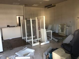 長久手市にて動物病院の内装解体