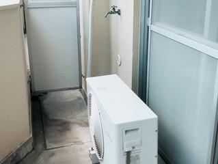 名古屋市名東区にて、エアコンの取り外し撤去
