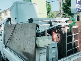名古屋市守山区にて, エアコン取り外し、他残置物撤去