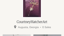 Courtney Hatcher Art Etsy