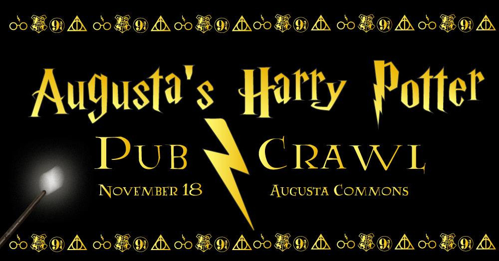 Augusta Harry Potter Pub Crawl
