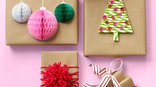 DIY Wrapping to Personalize Your Presents