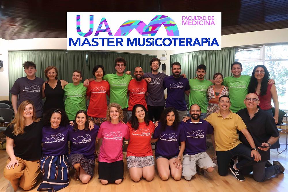 promoción master musicoterapia UAM 2018-2019