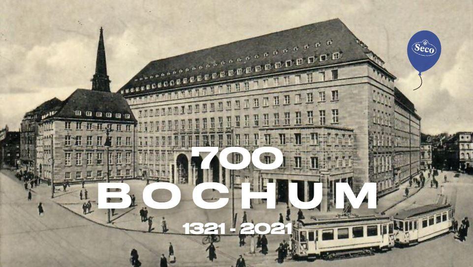 """Im Empfangsbereich der Seco Kältetechnik GmbH begrüßt eine Fliegerbombe aus dem 2. Weltkrieg die Besucher. Die Bombe lag unter dem Firmengebäude und wurde 2011 geborgen. Die Ruhr Nachrichten bezeichneten es als die """"Schwierigste Bombenbergung aller Zeiten""""."""