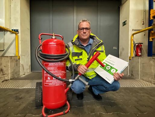 Für uns im Einsatz: Peter Kuchcinski - Sicherheits- & Brandschutzbeauftragter