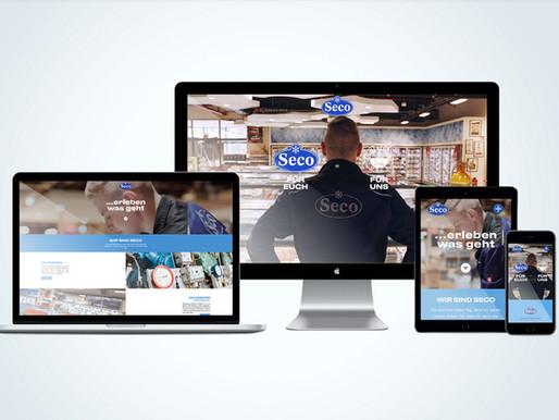 Relaunch www.secokaelte.de
