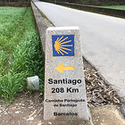 קמינו דה סנטיאגו תכנון מסלול