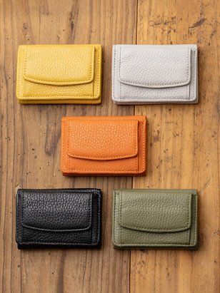 イタリアンレザーミニ財布
