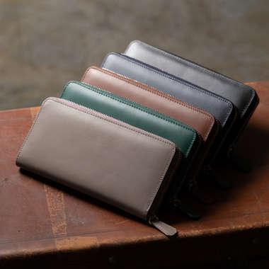 イタリアンレザー長財布