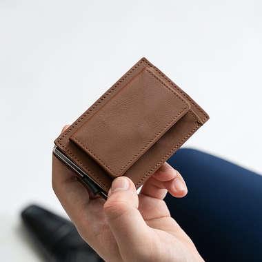 ドイツレザー 三つ折り財布