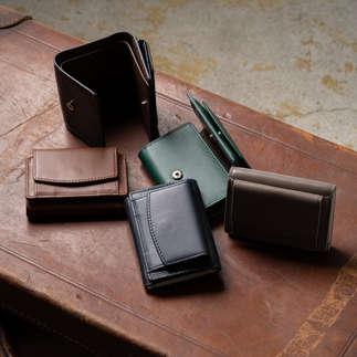 スキミング防止機能付き 三つ折り ミニ財布