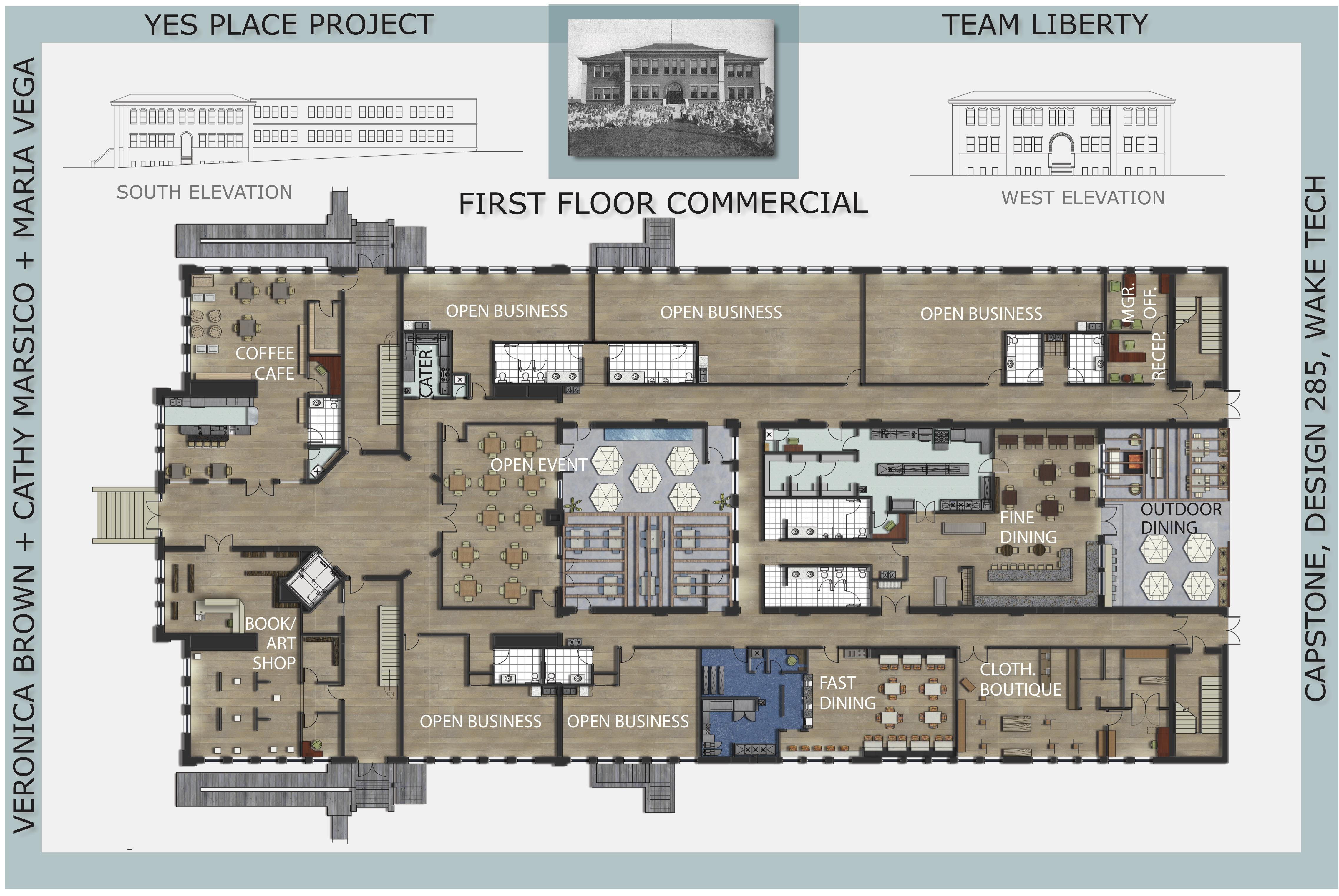 Commercial Interior Design Por