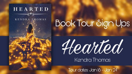 *CLOSED* Review Tour: Hearted by Kendra Thomas