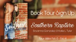 *CLOSED* Creative Tour: Southern Rapture by Bryanna Gonzalez & Katie L. Tyler