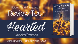 Review Tour: Hearted by Kendra Thomas