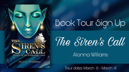 Promo Tour Sign Up: The Siren's Call by Alonna Williams