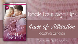 *CLOSED* Review Tour Sign Up: Laws of Attraction by Sophia Sinclair