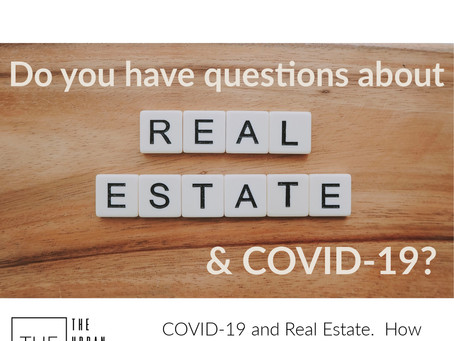 COVID-19🦠 and Real Estate.  How we are helping reduce the risk.
