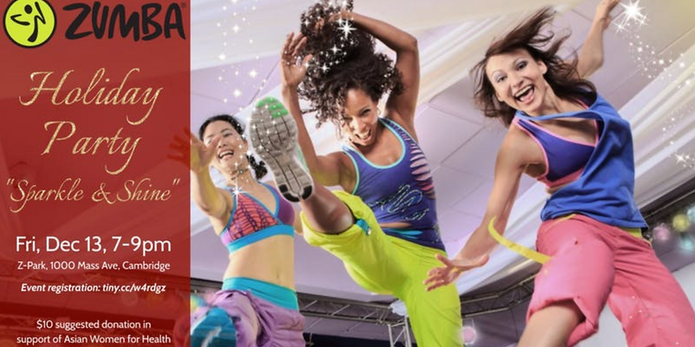 ZUMBA Holiday Party【Asian Women for Health X Z-Park】