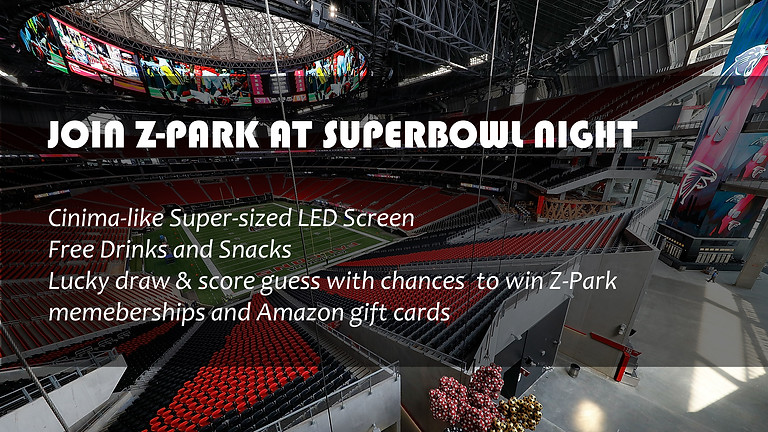 Z-Park Super Bowl Party Night