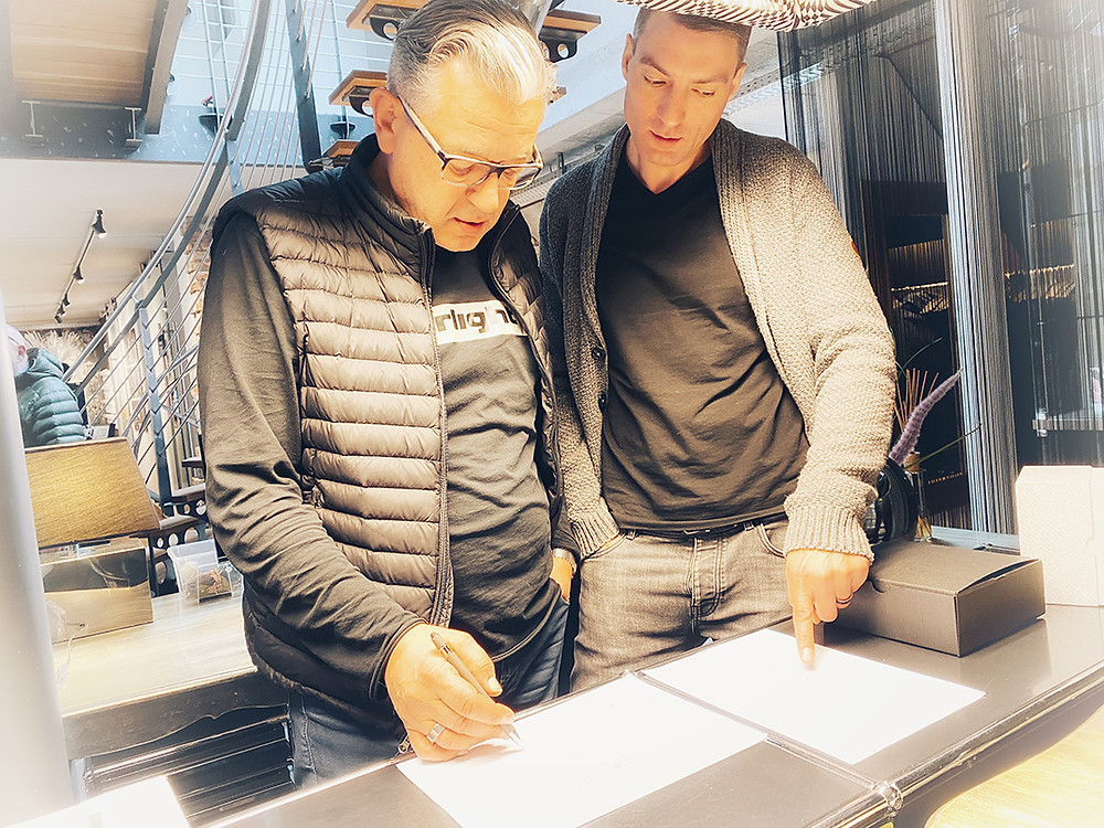 Siegmund Dumm und Björn Ungerer - Brust+Partner