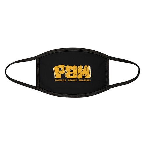 Black PBM Face Mask