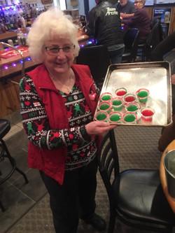 Kathy and her jello shots