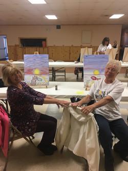 Judy and Gail