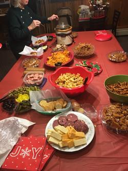 Christmas party snacks