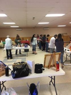 Pour & Paint party