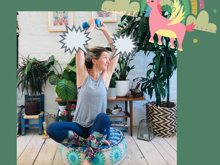 The time I wanted to slap the happy yoga unicorns.