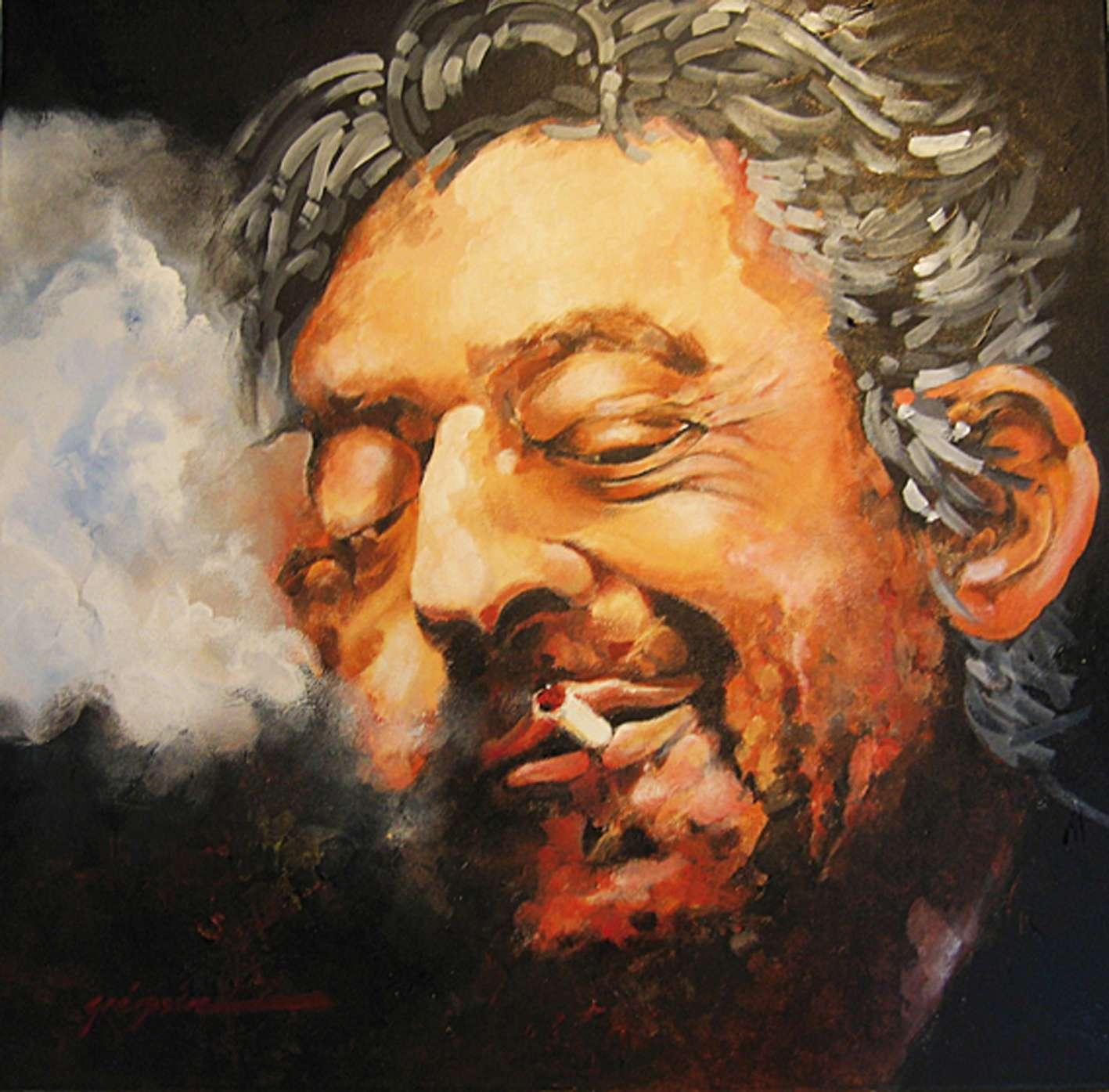 "Tableau ""Gainsbourg"""