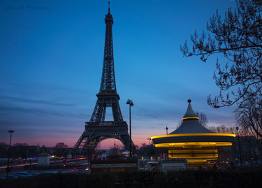 Tour Eiffel Night