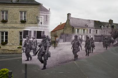 Sainte Marie du Mont 1944/2017.jpg