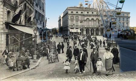 Place de la Liberté 1900/2017