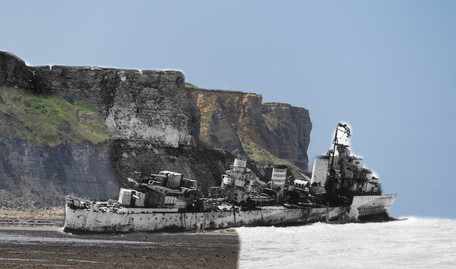HMS Fury, 1944/2017