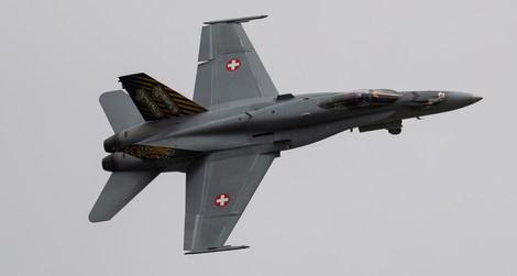 F-18 Flypast