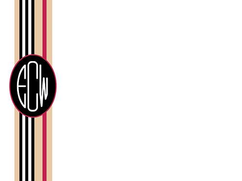 Burberry w/3 Letter Monogram