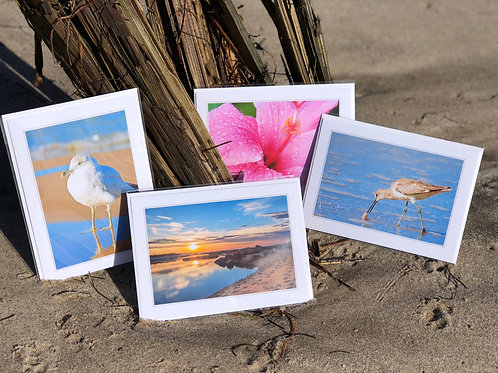 "Bundle of 5 - 5""x7"" Folded Note Cards"