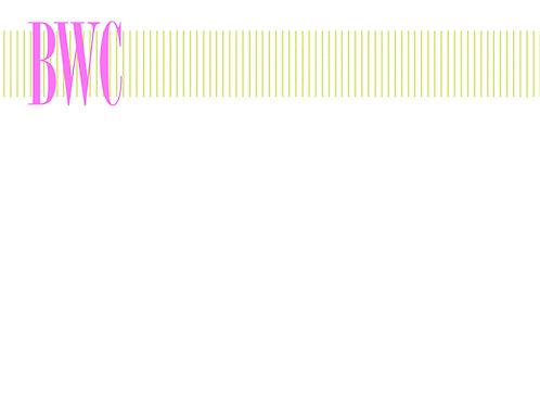 Apple Stripe w/Initials