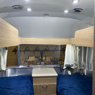 Bunk with ladder removed