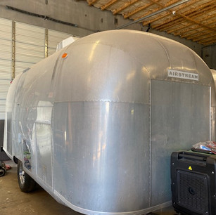 1960 Airstream weather station reimagined