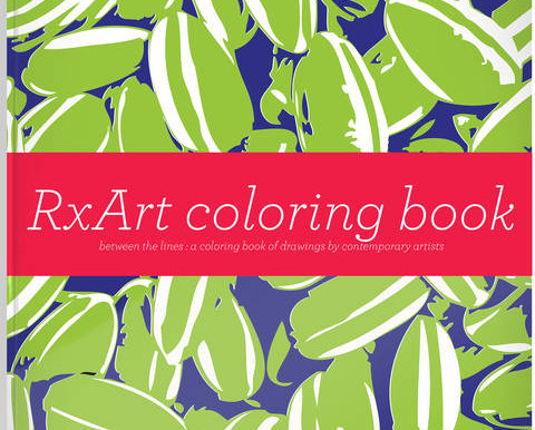 THE RXART COLORING BOOK, Volume 4
