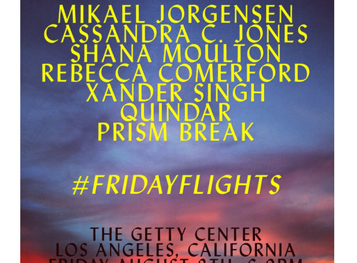 FRIDAYFLIGHTS a Curated Evening of Art, Music and Performance at the Getty Center