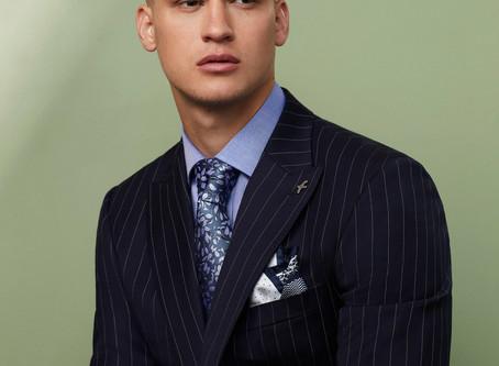 Spencer Diagonal Weave Shirting