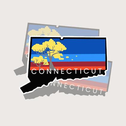 CT State Sticker